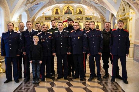 В Духосошественском храме состоялось заседание казанского городского казачьего общества